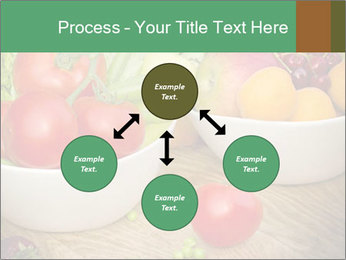 Fresh fruits and vegetables PowerPoint Templates - Slide 91