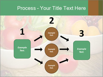 Fresh fruits and vegetables PowerPoint Templates - Slide 92