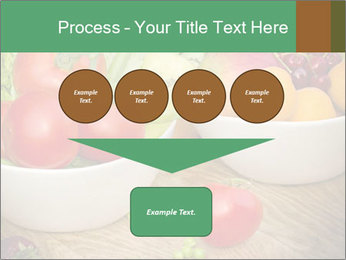 Fresh fruits and vegetables PowerPoint Templates - Slide 93