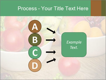 Fresh fruits and vegetables PowerPoint Templates - Slide 94