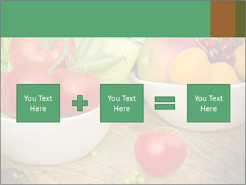 Fresh fruits and vegetables PowerPoint Templates - Slide 95