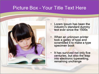 Lovely asian girl PowerPoint Templates - Slide 13