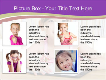 Lovely asian girl PowerPoint Templates - Slide 14