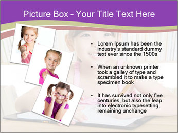 Lovely asian girl PowerPoint Templates - Slide 17