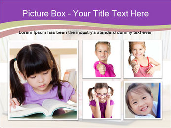 Lovely asian girl PowerPoint Templates - Slide 19
