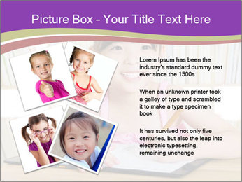 Lovely asian girl PowerPoint Templates - Slide 23