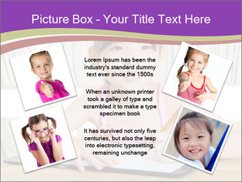 Lovely asian girl PowerPoint Templates - Slide 24