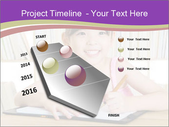 Lovely asian girl PowerPoint Templates - Slide 26