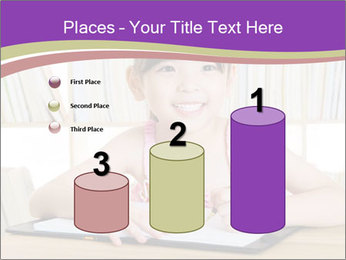 Lovely asian girl PowerPoint Templates - Slide 65