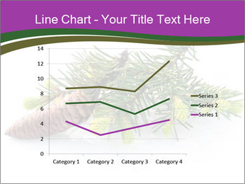 Fir branch with cone PowerPoint Template - Slide 54