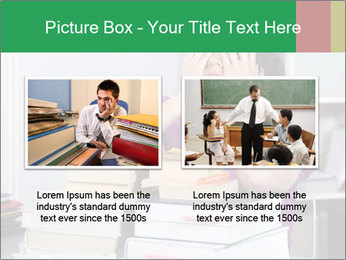Overwhelmed student PowerPoint Template - Slide 18