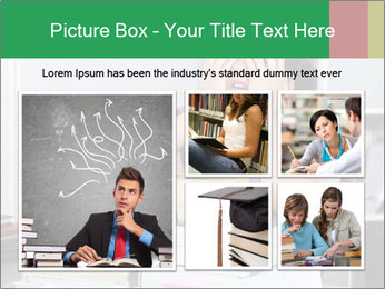 Overwhelmed student PowerPoint Template - Slide 19