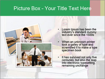 Overwhelmed student PowerPoint Template - Slide 20