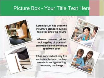 Overwhelmed student PowerPoint Template - Slide 24