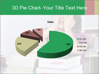Overwhelmed student PowerPoint Templates - Slide 35