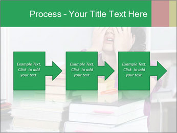 Overwhelmed student PowerPoint Templates - Slide 88