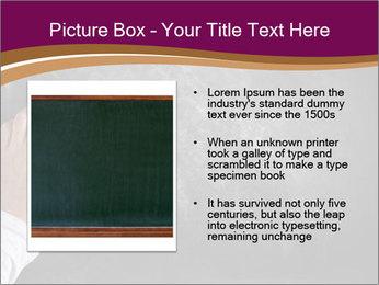 Hand with eraser PowerPoint Template - Slide 13