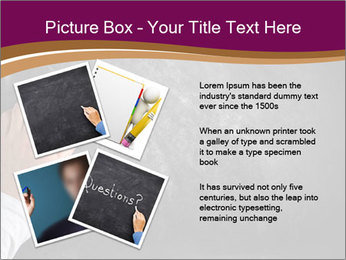 Hand with eraser PowerPoint Template - Slide 23