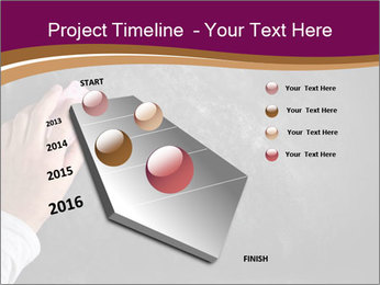 Hand with eraser PowerPoint Template - Slide 26