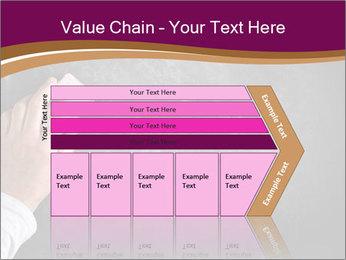 Hand with eraser PowerPoint Template - Slide 27