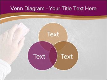 Hand with eraser PowerPoint Template - Slide 33