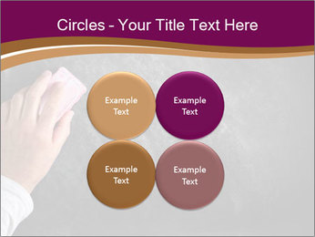 Hand with eraser PowerPoint Template - Slide 38
