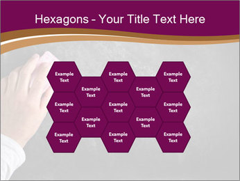 Hand with eraser PowerPoint Template - Slide 44