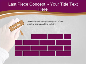 Hand with eraser PowerPoint Template - Slide 46