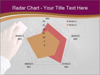 Hand with eraser PowerPoint Template - Slide 51