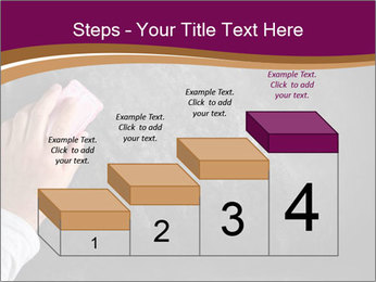 Hand with eraser PowerPoint Template - Slide 64