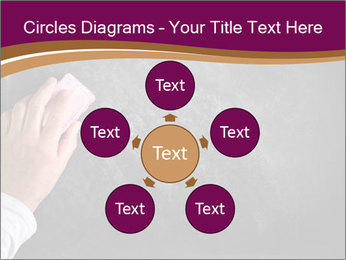 Hand with eraser PowerPoint Template - Slide 78