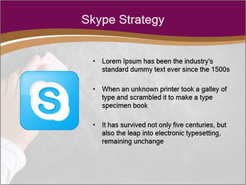 Hand with eraser PowerPoint Template - Slide 8