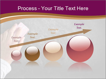 Hand with eraser PowerPoint Template - Slide 87