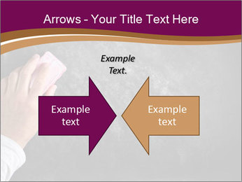 Hand with eraser PowerPoint Template - Slide 90