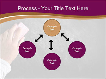 Hand with eraser PowerPoint Template - Slide 91