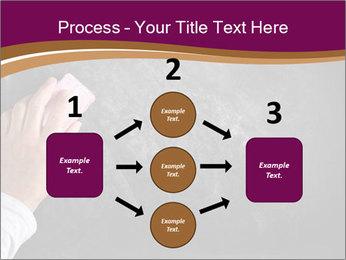 Hand with eraser PowerPoint Template - Slide 92