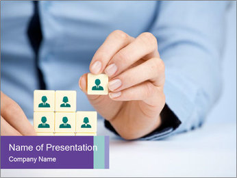 Human resources PowerPoint Template - Slide 1