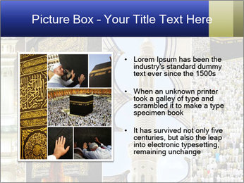 Composition on Hajj PowerPoint Template - Slide 13