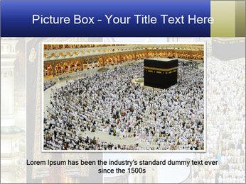 Composition on Hajj PowerPoint Templates - Slide 16