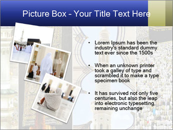 Composition on Hajj PowerPoint Template - Slide 17