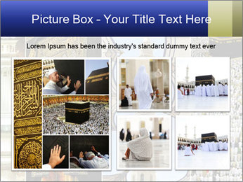 Composition on Hajj PowerPoint Template - Slide 19