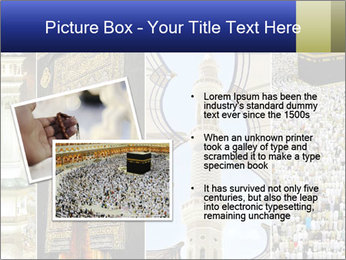 Composition on Hajj PowerPoint Template - Slide 20