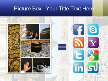 Composition on Hajj PowerPoint Template - Slide 21