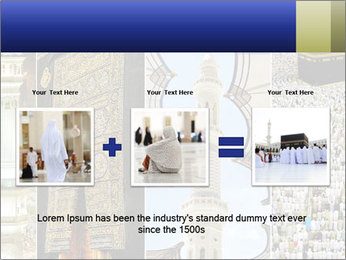 Composition on Hajj PowerPoint Template - Slide 22
