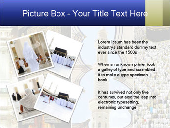 Composition on Hajj PowerPoint Template - Slide 23