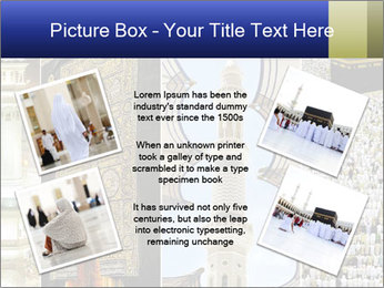 Composition on Hajj PowerPoint Template - Slide 24