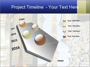 Composition on Hajj PowerPoint Template - Slide 26