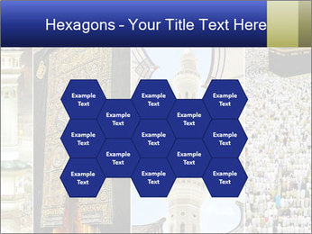 Composition on Hajj PowerPoint Template - Slide 44