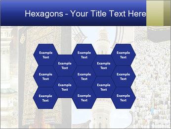 Composition on Hajj PowerPoint Templates - Slide 44