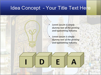 Composition on Hajj PowerPoint Template - Slide 80